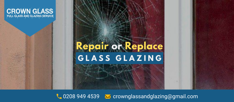 repair or replace glazing