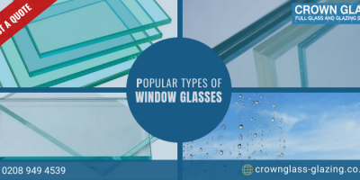 Types of Glasses to Suit Your Double-Glazed Windows
