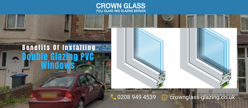Double Glazing PVC Windows